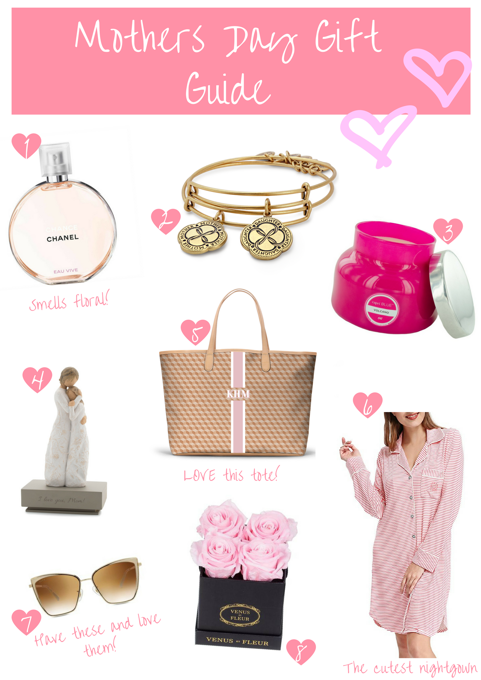8 Sentimental Gift Ideas Your Mom Will Love For Mother's Day!