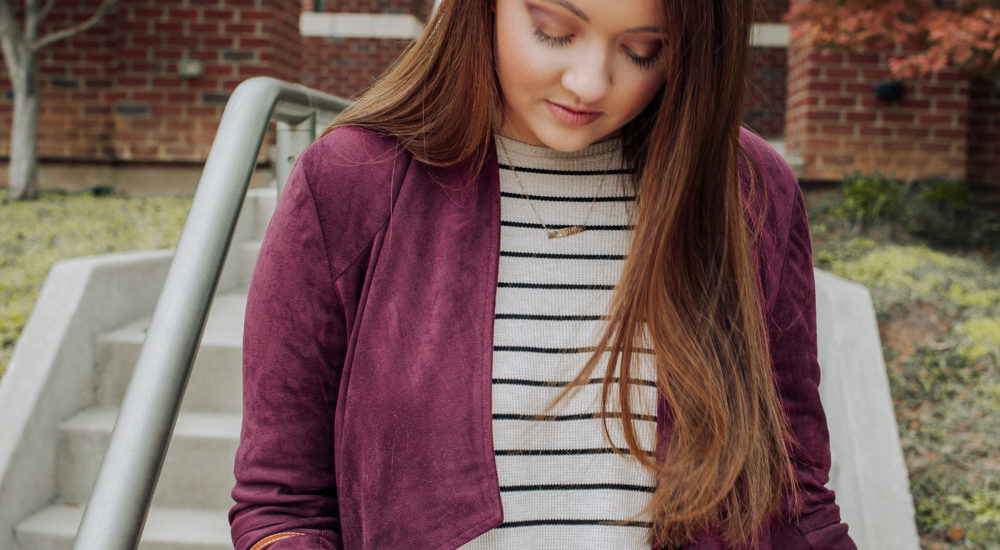 The Cutest And Most Versatile Suede Jacket For Fall 2018