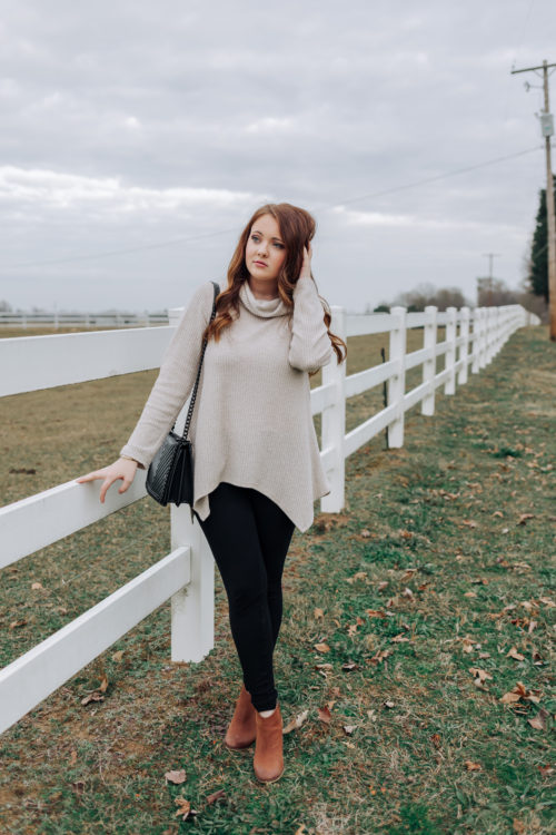 A Cozy Winter Tunic On Christmas Day