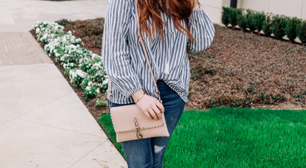 Preppy Spring Inspo: A Coastal Striped Top & The Cutest Studded Mules!